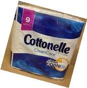 Cottonelle Clean Care Bath Tissue, 9 Big Rolls, Toilet Paper