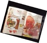 Clear Acrylic Lucite CookBook Magazine Music Book Stand