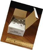 #1 Closed Safety Pins 10 Gross Box  1 Inch ***NEW***FREE
