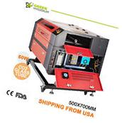 60W CO2  Laser Engraver Top Line Laser Engraving Machine-