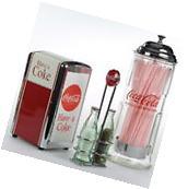 Coca-Cola Diner Tabletop Serveware Set Kitchen Serveware
