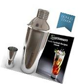 Cocktail Shaker Set Stainless Steel Mixer Martini Bar Drink