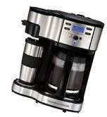 Hamilton Beach 2-Way Coffee Brewer Machine Kitchen Maker New