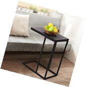 Coffee Tray Sofa Side End Table Lap Stand TV Snack Ottoman