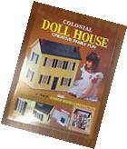 "SKILCRAFT Colonial Doll House KIT 1/4"" wood 3 Story 1""- 1'"