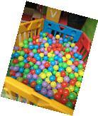 Wholesales 1000PCS Colorful Soft Plastic Pit Ball Seven