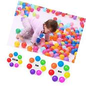 50pc Kids Baby Colorful Soft Play Balls Toy for Ball Pit