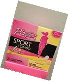 Box Playtex Sport Combo 28 Unscented Tampons + 20 Liners