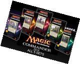 Magic the Gathering Commander 2016 Decks Set 5 decks MTG