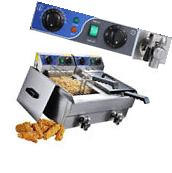 Commercial Electric 10L Deep Fryer Timer Stainless Steel
