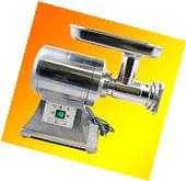 New True Commercial S/S Electric Meat Grinder Sausage