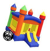 Commercial Grade Large Bounce House 100% PVC Inflatable