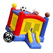 Commercial Grade 17 x 13 Bounce House 100% PVC Sports Jumper