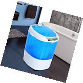 Portable Mini Compact Washing Machine Electric Laundry Spin