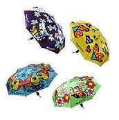 Romero Britto Compact Tote Umbrella Travel Folding Fashion