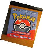 Sealed COMPLETE Pokemon 2 PLAYER STARTER Card Set THEME DECK