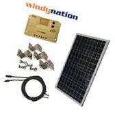 COMPLETE KIT 100 W Watt 100W  Solar Panel + 1500W Inverter