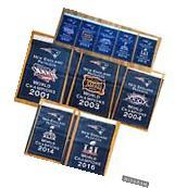 COMPLETE SET - 5 New England Patriots NFL Super Bowl