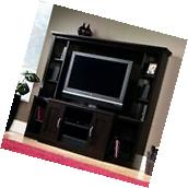 Complete TV Entertainment Center Wall Wood Furniture