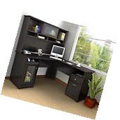 Large Computer Desk With Hutch Corner L Shaped Office