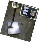 New 600LB Weight Computer Scale Digital Floor Platform