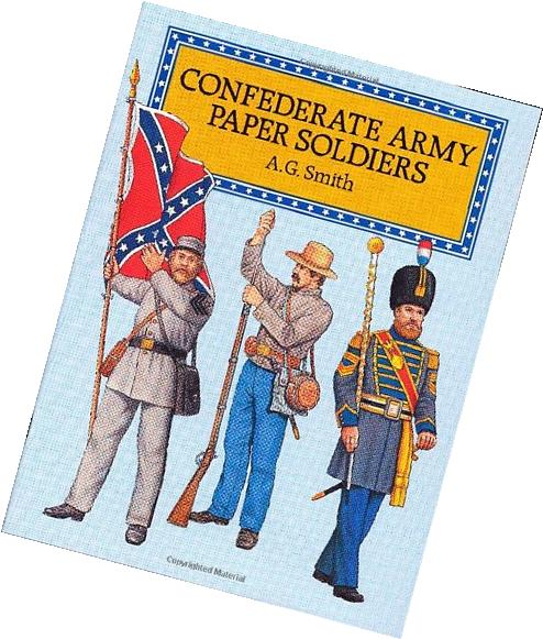 Confederate Army Paper Soldiers