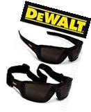 Dewalt Converter Smoke Anti Fog Lenses Padded Safety Glasses