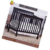 Convertible Baby Crib Mattress Nursery Toddler Bed Changer