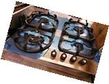 NEW OUT OF BOX BERTAZZONI 24 INCH COOKTOP STAINLESS STEEL