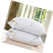 2 Pack Cool Comfortable Hotel  Polyester Bamboo Bed Sleeping