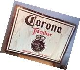 Corona Beer Cerveza Tin Sign Familiar Mexico Bar Man Cave Game Room