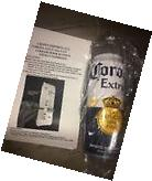Corona Extra Beer Cooler Refrigerator Door Handle Bar Pub