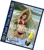 Corona Extra Beer Mounted Poster Photo Sign Limited Edition