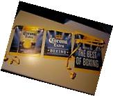NEW Corona Extra Bottle Boxing Beer String Banner sign Cerveza B-4 Flag Import