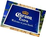 NEW CORONA EXTRA LIGHT BEER WELCOME TO YOUR BEACH METAL