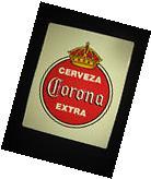 Corona Extra Nostalgic Tin Beer Sign pub bar mexico cerveza