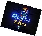 "New Corona Extra Parrot Pub Bar Neon Sign 17""x14"" BE235S"