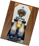 NEW Corona Extra Wooden Wall Mounted Plaque w/Bottle Opener