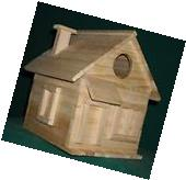 Cottage Bird House Kits for Children and Adults Hand made in