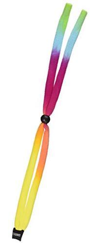 Chums Original Cotton Standard End Eyewear Retainer, Rainbow