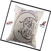 Cotton Linen Square Decorative Retro Throw Pillow Case