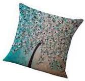Cushion Cover Cotton Linen Throw Pillow Case For Home Sofa