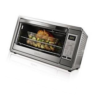 Oster Large Capacity Countertop 6-Slice Digital Convection Toaster Oven, New