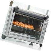 Countertop Toaster Oven Convection Heat 6 Slice 3 Rack