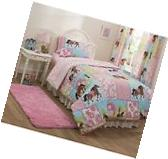 NEW FULL Size Mainstays Kid  Country Meadows Horse Pony Bed