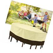 Cover for Large Round Patio Table & Chair Set Outdoor