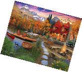 Cozy Cabin - 1000 Piece Puzzle-White Mountain Puzzles