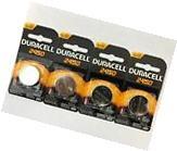 4 Pc Duracell CR2450 ECR2450 CR 2450 3V Coin Cell Lithium