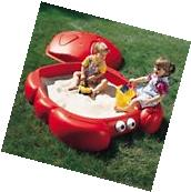 Step2 Crabbie Sandbox With 2 Built-In Seats And Cover