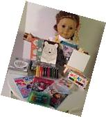 Craft Apron Art Supplies for American Girl Doll 18""